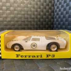 Slot Cars: POLY POLITOYS SLOT CAR MADE IN SPAIN FERRARI P3 ESCALA 1/32. Lote 234898980