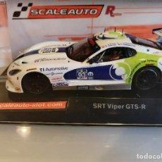 Slot Cars: SC-6108R. VIPER SRT GTS-R Nº93 DE SCALEAUTO. Lote 287459043