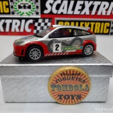 Slot Cars: FORD FOCUS WRC # 2 SCALEXTRIC !! DESCRIPCION.... Lote 236920635