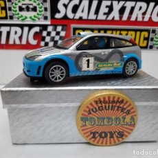 Slot Cars: FORD FOCUS WRC # 1 SCALEXTRIC !! DESCRIPCION.... Lote 236921075