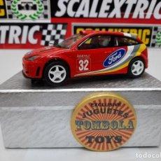 Slot Cars: FORD FOCUS WRC # 32 SCALEXTRIC !! DESCRIPCION.... Lote 236921425