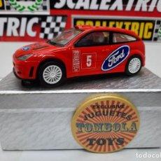 Slot Cars: FORD FOCUS WRC # 5 SCALEXTRIC !! DESCRIPCION.... Lote 236921720