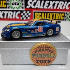 """Slot Cars: DODGE VIPER """" T. ARCHER """" # 22 SUPERSLOT CON LUCES SCALEXTRIC !! DESCRIPCION.... Lote 236924225"""