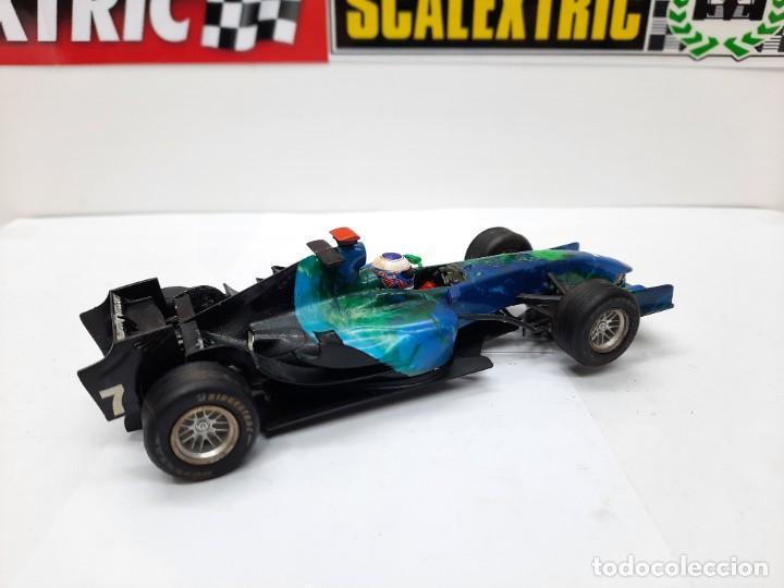 Slot Cars: HONDA RACING F1 FORMULA #21 SUPERSLOT SCALEXTRIC !! - Foto 5 - 237004595