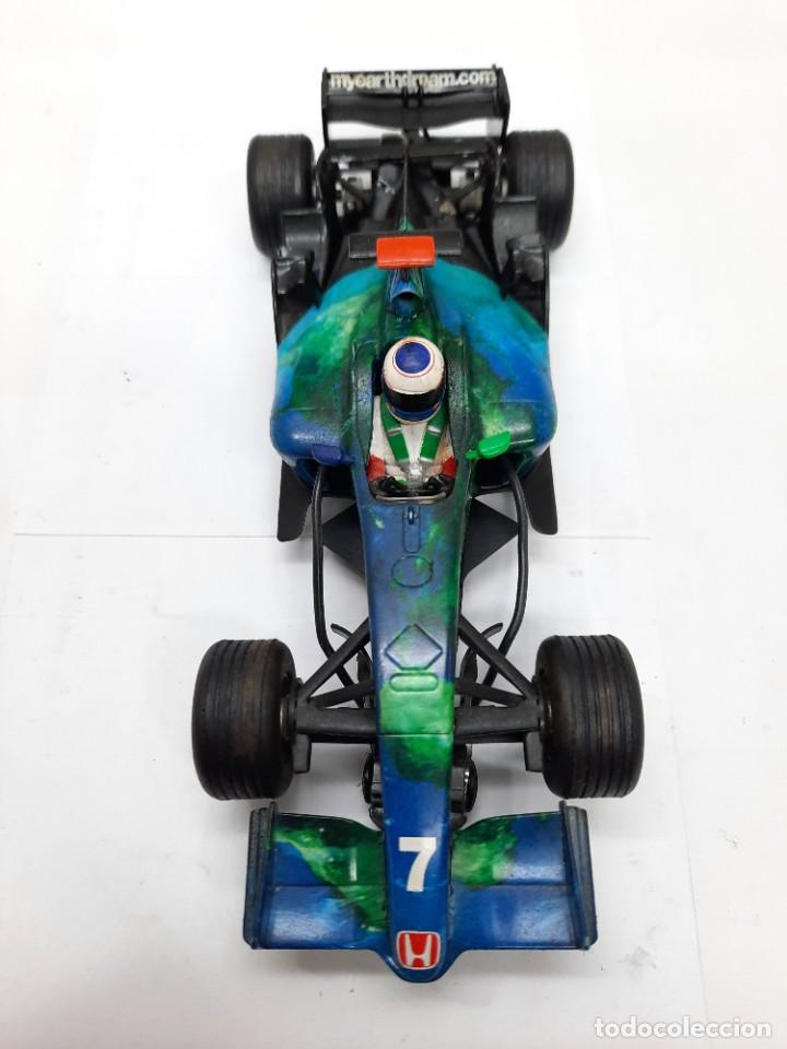 Slot Cars: HONDA RACING F1 FORMULA #21 SUPERSLOT SCALEXTRIC !! - Foto 9 - 237004595