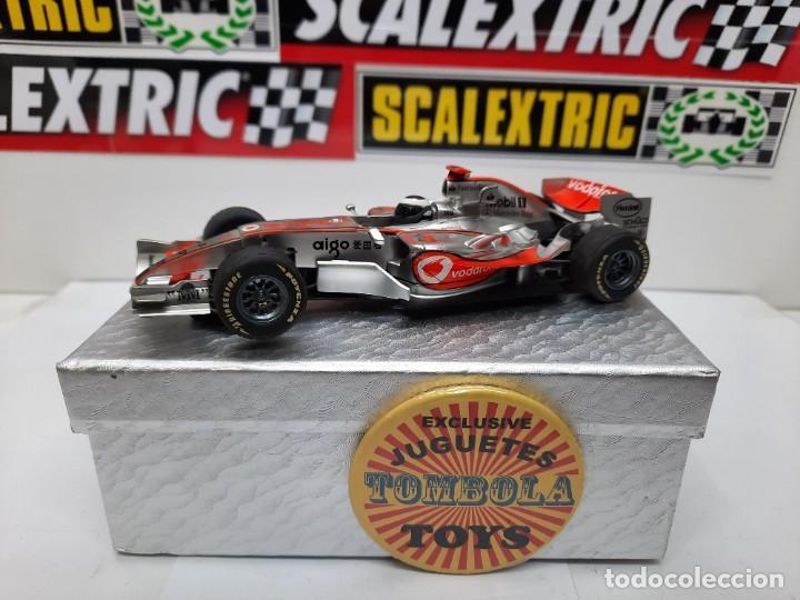 "MCLAREN MP4-21 "" F.ALONSO "" FORMULA # 1 SUPERSLOT SCALEXTRIC !! (Juguetes - Slot Cars - Magic Cars y Otros)"