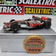 """Slot Cars: MCLAREN MP4-21 """" F.ALONSO """" FORMULA # 1 SUPERSLOT SCALEXTRIC !!. Lote 237006145"""