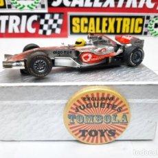 Slot Cars: MCLAREN MP4-21 FORMULA # 2 SUPERSLOT SCALEXTRIC !!. Lote 237007215