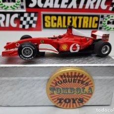 Slot Cars: FERRARI F1 FORMULA # 1 CARRERA EVOLUTION SCALEXTRIC !!. Lote 237009460