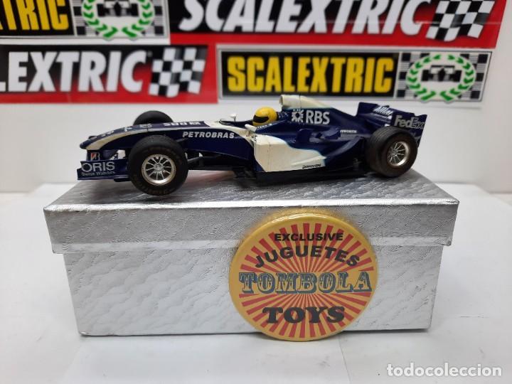 WILLIAMS FW26 FORMULA #10 SUPERSLOT SCALEXTRIC !! (Juguetes - Slot Cars - Magic Cars y Otros)