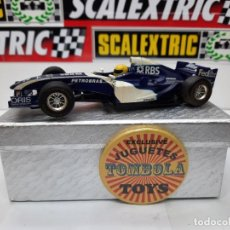 Slot Cars: WILLIAMS FW26 FORMULA #10 SUPERSLOT SCALEXTRIC !!. Lote 237013040