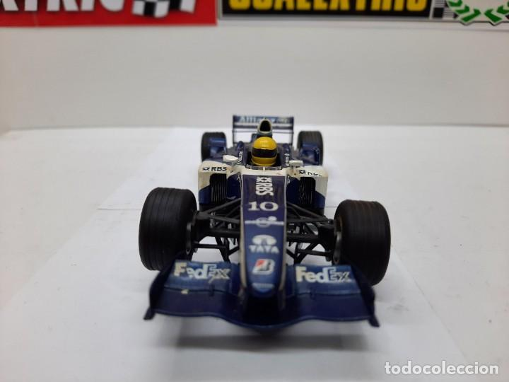 Slot Cars: WILLIAMS FW26 FORMULA #10 SUPERSLOT SCALEXTRIC !! - Foto 9 - 237013040