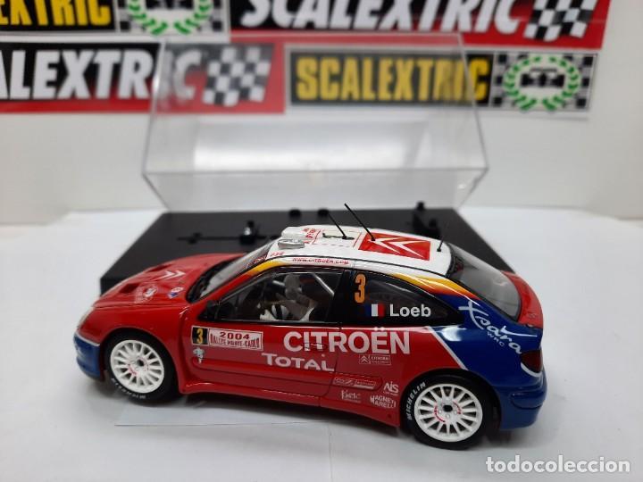 "Slot Cars: CITROEN XSARA WRC ( LOEB #3 ) "" RALLY MONTECARLO 2004 "" AUTOART SCALEXTRIC !! - Foto 3 - 237314295"