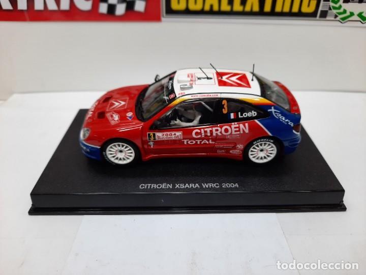 "Slot Cars: CITROEN XSARA WRC ( LOEB #3 ) "" RALLY MONTECARLO 2004 "" AUTOART SCALEXTRIC !! - Foto 13 - 237314295"