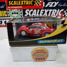 """Slot Cars: OPEL V8 COUPE """" SPORT BILD N°4 """" SUPERSLOT CON LUCES SCALEXTRIC !!. Lote 237326035"""