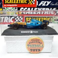 """Slot Cars: RENAULT F1 R24 FORMULA """" FERNANDO ALONSO """" #8 SUPERSLOT SCALEXTRIC !!. Lote 237371815"""