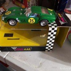 Slot Cars: FERRARI 250 GTO CV009 VERDE PINK KAR. Lote 237394815