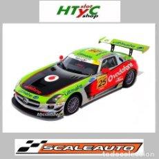 Slot Cars: SCALEAUTO MERCEDES AMG GT3 #25 VODAFONE WINNER JARAMA IBER GT 2011 SC6022R. Lote 237156005