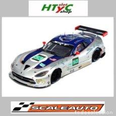 Slot Cars: SCALEAUTO DODGE VIPER SRT GTS-R #53 LE MANS 2013 GOOSSENS / DALZIEL / FARNBACHER SC6037R. Lote 237161640