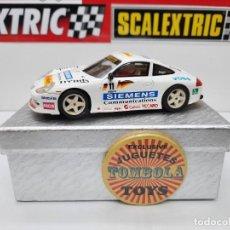 Slot Cars: PORSCHE 911 GT3 SUPERCUP #11 PROSLOT !! DESCRIPCION.... Lote 238508875