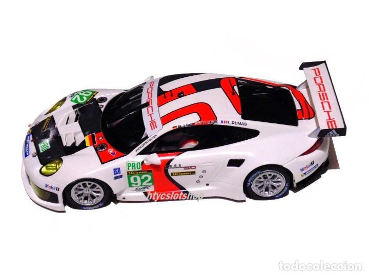 Slot Cars: SCALEAUTO PORSCHE 991 RSR #92 WINNER LE MANS 2013 LIEB / LIETZ / DUMAS SC6065R - Foto 3 - 237159120
