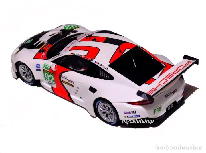 Slot Cars: SCALEAUTO PORSCHE 991 RSR #92 WINNER LE MANS 2013 LIEB / LIETZ / DUMAS SC6065R - Foto 4 - 237159120