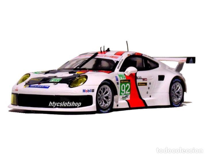 Slot Cars: SCALEAUTO PORSCHE 991 RSR #92 WINNER LE MANS 2013 LIEB / LIETZ / DUMAS SC6065R - Foto 5 - 237159120