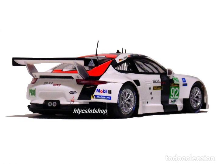 Slot Cars: SCALEAUTO PORSCHE 991 RSR #92 WINNER LE MANS 2013 LIEB / LIETZ / DUMAS SC6065R - Foto 7 - 237159120