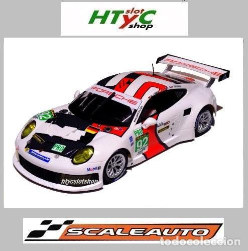 SCALEAUTO PORSCHE 991 RSR #92 WINNER LE MANS 2013 LIEB / LIETZ / DUMAS SC6065R (Juguetes - Slot Cars - Magic Cars y Otros)