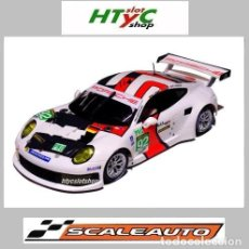 Slot Cars: SCALEAUTO PORSCHE 991 RSR #92 WINNER LE MANS 2013 LIEB / LIETZ / DUMAS SC6065R. Lote 237159120