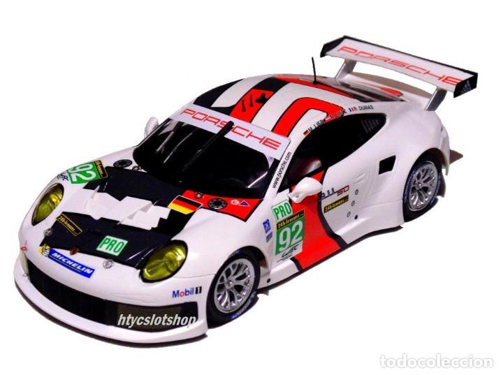 Slot Cars: SCALEAUTO PORSCHE 991 RSR #92 WINNER LE MANS 2013 LIEB / LIETZ / DUMAS SC6065R - Foto 2 - 237159120