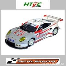 Slot Cars: SCALEAUTO PORSCHE 991 RSR #911 WINNER DAYTONA 2014 TANDY / LIETZ / PILET SC6139R. Lote 237159885