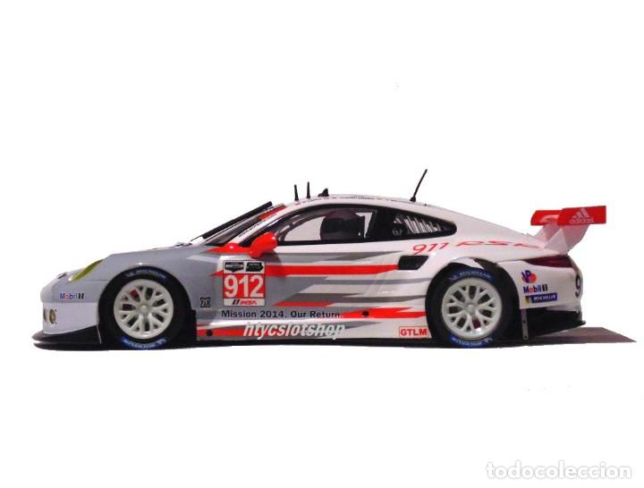 Slot Cars: SCALEAUTO PORSCHE 991 RSR #912 24 HS DAYTONA 2014 LONG / CHRISTENSEN / BERGMEISTER SC6140R - Foto 6 - 237160675