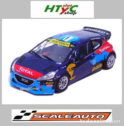 SCALEAUTO PEUGEOT 208 T16 #1 WRX RALLY BARCELONA 2014 TIMUR TIMERZYANOV SC6159R (Juguetes - Slot Cars - Magic Cars y Otros)