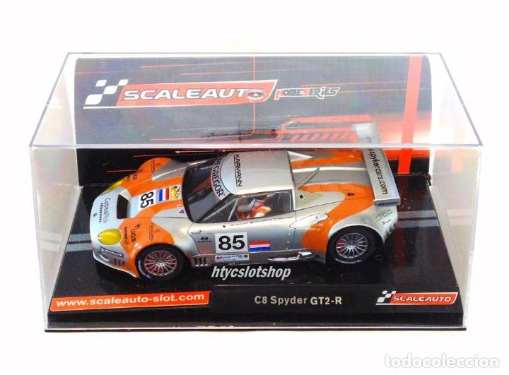Slot Cars: SCALEAUTO SPYKER C8 SPYDER GT2R #85 LE MANS 2006 DUMBRECK / CORONEL / CREVELS SC6053 - Foto 12 - 253167050