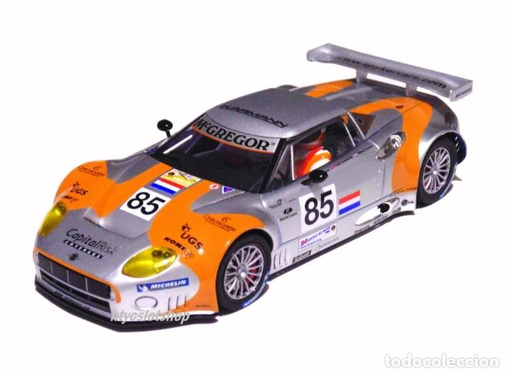 Slot Cars: SCALEAUTO SPYKER C8 SPYDER GT2R #85 LE MANS 2006 DUMBRECK / CORONEL / CREVELS SC6053 - Foto 2 - 253167050