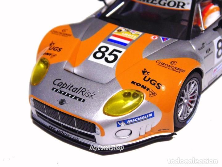 Slot Cars: SCALEAUTO SPYKER C8 SPYDER GT2R #85 LE MANS 2006 DUMBRECK / CORONEL / CREVELS SC6053 - Foto 8 - 253167050