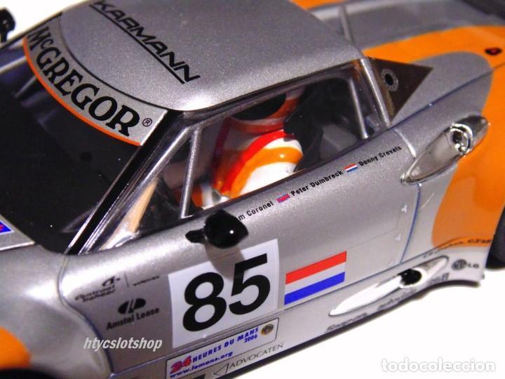 Slot Cars: SCALEAUTO SPYKER C8 SPYDER GT2R #85 LE MANS 2006 DUMBRECK / CORONEL / CREVELS SC6053 - Foto 9 - 253167050