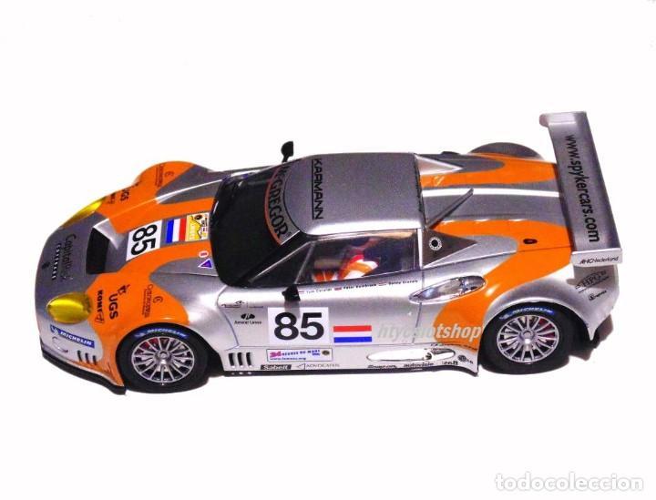 Slot Cars: SCALEAUTO SPYKER C8 SPYDER GT2R #85 LE MANS 2006 DUMBRECK / CORONEL / CREVELS SC6053 - Foto 3 - 253167050