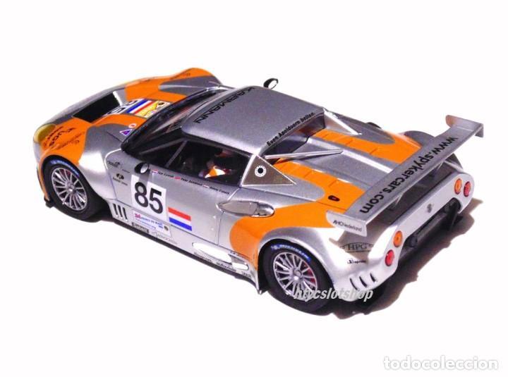Slot Cars: SCALEAUTO SPYKER C8 SPYDER GT2R #85 LE MANS 2006 DUMBRECK / CORONEL / CREVELS SC6053 - Foto 4 - 253167050
