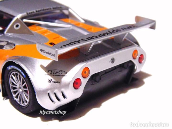 Slot Cars: SCALEAUTO SPYKER C8 SPYDER GT2R #85 LE MANS 2006 DUMBRECK / CORONEL / CREVELS SC6053 - Foto 10 - 253167050