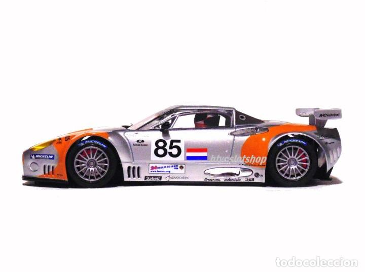 Slot Cars: SCALEAUTO SPYKER C8 SPYDER GT2R #85 LE MANS 2006 DUMBRECK / CORONEL / CREVELS SC6053 - Foto 6 - 253167050