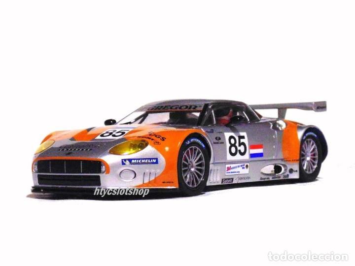 Slot Cars: SCALEAUTO SPYKER C8 SPYDER GT2R #85 LE MANS 2006 DUMBRECK / CORONEL / CREVELS SC6053 - Foto 5 - 253167050