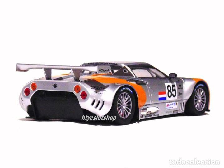 Slot Cars: SCALEAUTO SPYKER C8 SPYDER GT2R #85 LE MANS 2006 DUMBRECK / CORONEL / CREVELS SC6053 - Foto 7 - 253167050