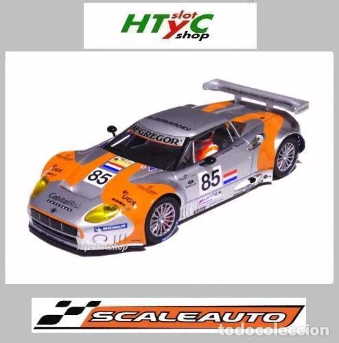 SCALEAUTO SPYKER C8 SPYDER GT2R #85 LE MANS 2006 DUMBRECK / CORONEL / CREVELS SC6053 (Juguetes - Slot Cars - Magic Cars y Otros)