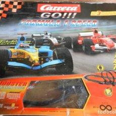 Slot Cars: CARRERA GO!!! - FORMULA 1 SPEED - 62021 - CAJA ORIGINAL - VER DESCRIPCIÓN - VER FOTOS.. Lote 238625610