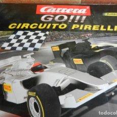 Slot Cars: CARRERA GO!!! - CIRCUITO PIRELLI - 20062404 - CAJA ORIGINAL - VER DESCRIPCIÓN - VER FOTOS.. Lote 238627390