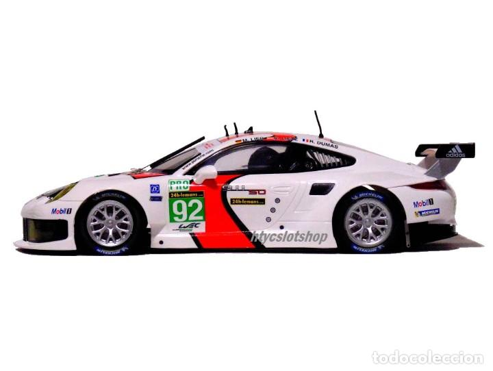 Slot Cars: SCALEAUTO PORSCHE 991 RSR #92 WINNER LE MANS 2013 LIEB / LIETZ / DUMAS SC6065R - Foto 6 - 237159120
