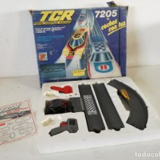Slot Cars: TCR TOTAL CONTROL RACING, 7205, MODEL IBER, BARCELONA, 1980, EN CAJA ORIGINAL, SIN COCHES, LEER. Lote 241659280