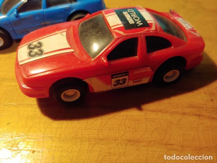 Slot Cars: DOS COCHES DE PISTA ELECTRICOS NO PARA SCALEXTRIC MIRAR FOTOS - Foto 2 - 241917215